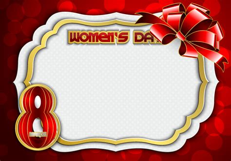 day frames happy women s day frames vector free vector graphic