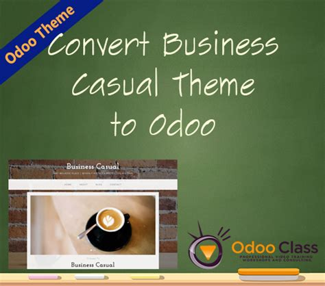 bootstrap themes odoo convert the business casual bootstrap theme into odoo