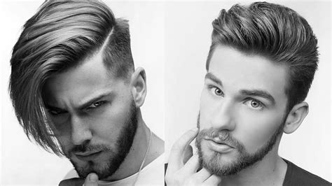 Men's New Hairstyles Video 2017   YouTube