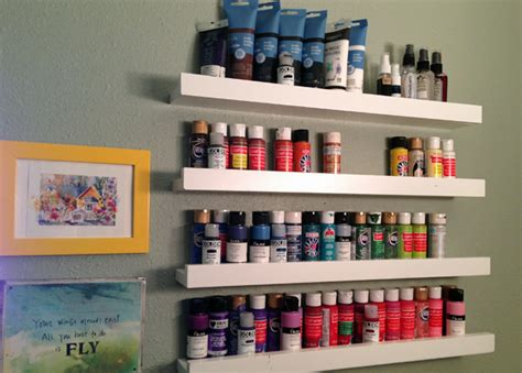 Shelf Paint by Revealing New Create Space