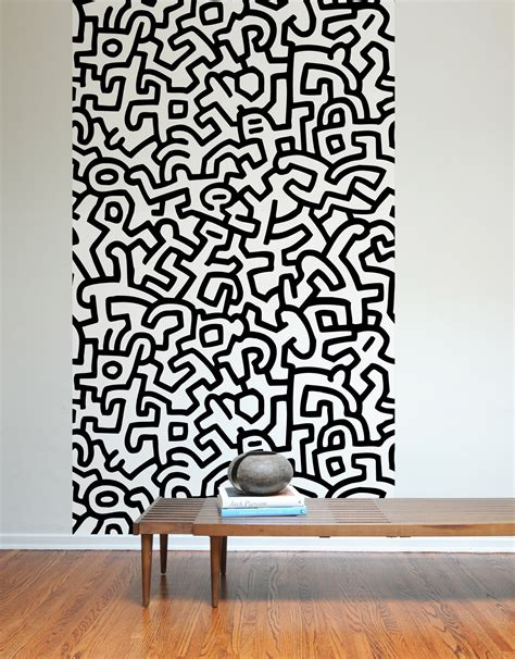 Stickers For Room Walls keith haring adhesive wall tiles stick on wall tiles blik