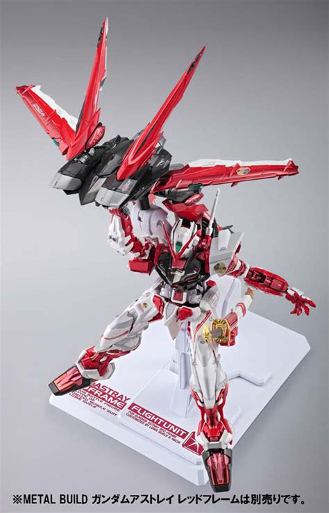 Metal Build Gundam Astray Frame Plus Flight Unit Bandai Built gundam astray frame metal build bandai
