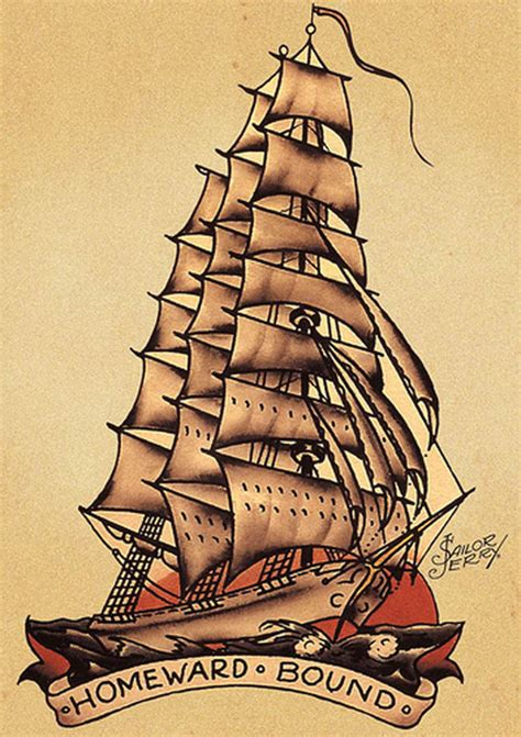 sailor jerry ship tattoo designs 25 sailor jerry tattoos to rock your world