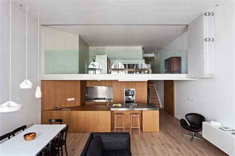 design milk london minimalist multi family flat with plenty of light space