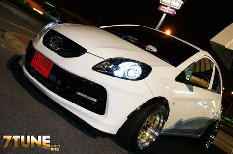 Lu Projector Honda Brio honda brio tuning thai tuners kit up the brio