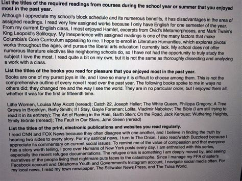 Columbia College Essay by Columbia Class Of 2020 Shares Its College Essays Bwog