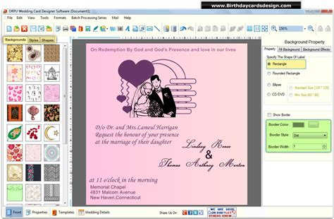 software for wedding invitation cards indian wedding cards design software free 4k wallpapers