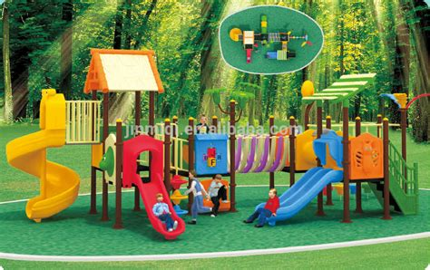 Jmq p048c Outdoor Preschool Playground Equipment,Plastic