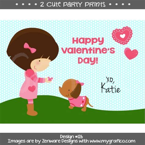 personalized valentines day cards personalized s day card image printable