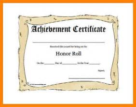 8 honor roll certificate template day care receipts