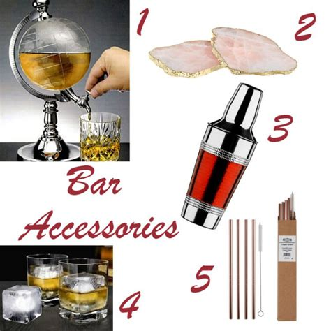 Drinks Bar Accessories Pimp Your Cocktail Glassware And Bar Accessories For