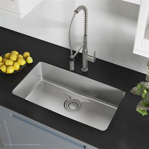 Stainless Steel Kitchen Sinks   KrausUSA.com