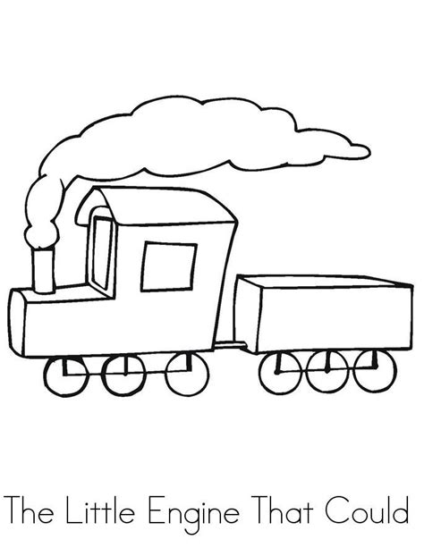 Printable Coloring Pages The Little Engine That Could
