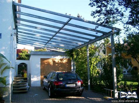 carport edelstahl glas dolp metall e k carport stahl glas 0201 1 dolp