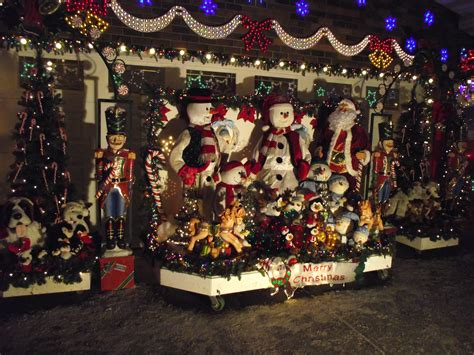 christmas light display ideas