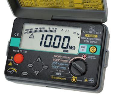 Kyoritsu 3001b Digital Insulation Tester kew 3023a digital insulation continuity testers products kyoritsu