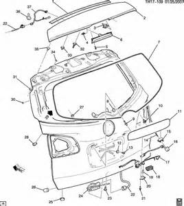 2008 Buick Enclave Parts Hardware Part 2 Fits 2008 Gmc Acadia Nalley Buick Gmc