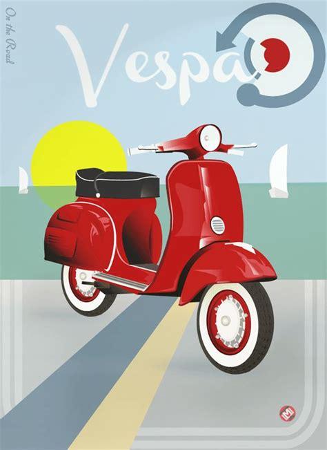 Vespa Vintage Poster vintage vespa posters www pixshark images galleries with a bite