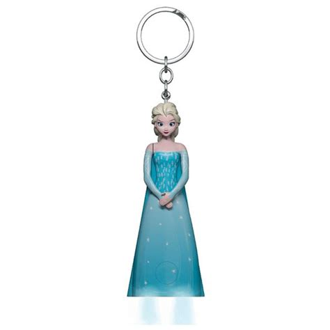 Ke 077 Keychain Elsa Frozen disney frozen elsa led torch key chain iwoot