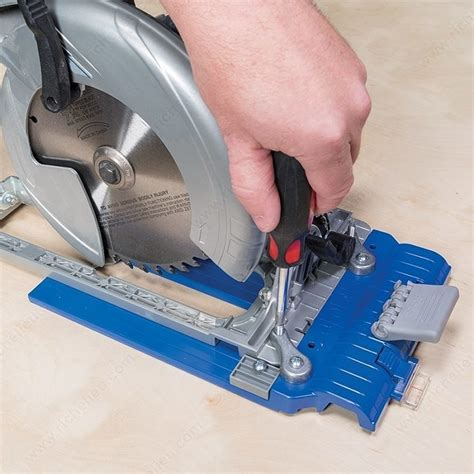 Rip Cut Circular Saw Edge Rip Cut Circular Saw Edge Guide Richelieu Hardware
