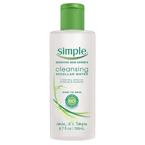 Best Drugstore Detox Cleanse by Simple Cleansing Micellar Water Rank Style