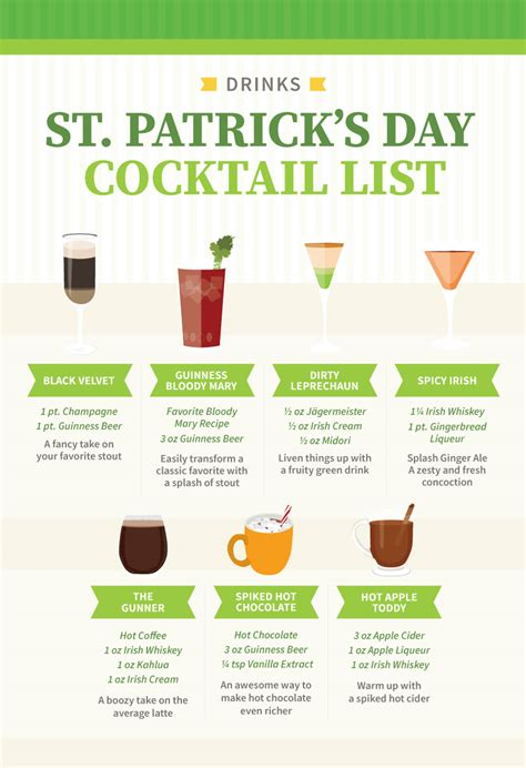 s day list more than green and easy st s day