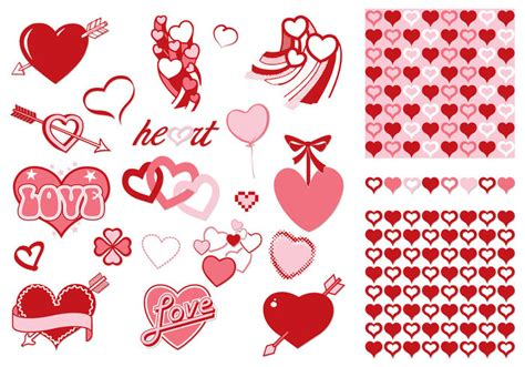 valentine pattern vector valentine s day vector and pattern pack download free
