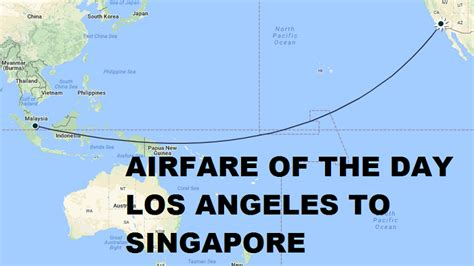 airfare   day united airlines los angeles  singapore economy class   stop