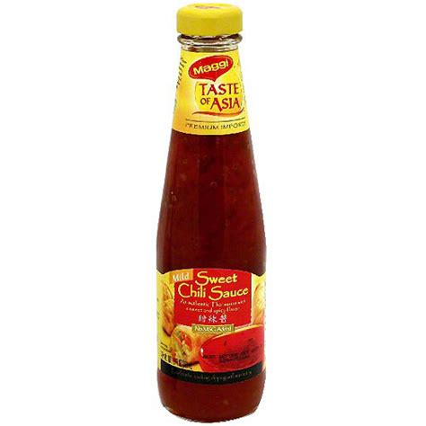 maggi taste of asia mild sweet chili sauce 10 1 oz pack of 6 walmart com