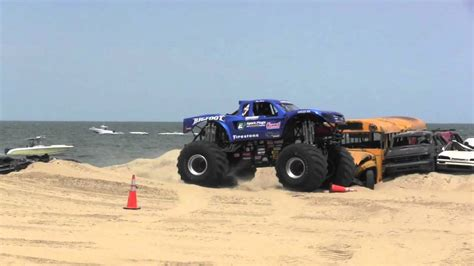 Big Foot Monster Truck Monsters On The Beach Youtube