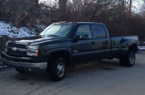 how to work on cars 2004 chevrolet silverado 1500 electronic valve timing buy used 2004 chevy k3500 crew cab silverado diesel 4x4 dually loaded 1 owner in sunman indiana