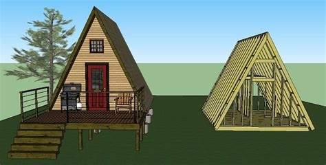 small a frame house plans ten tiny cabins book simple solar homesteading