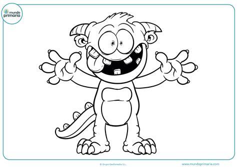 imagenes infantiles monstruos dibujos de monstruos para colorear mundo primaria