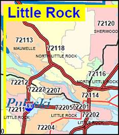 Arkansas Zip Code Map by Arkansas Zip Code Map Including County Maps