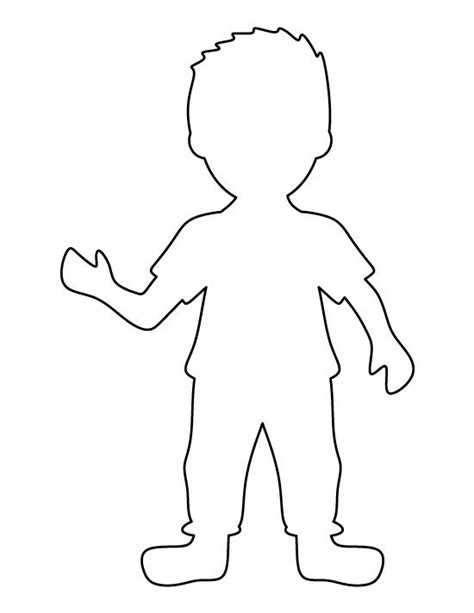 Boy And Template Free Boys Stencils And Templates On Pinterest