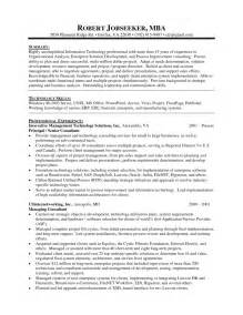 Mba Resume Templates by Exles Of Resumes 19 Reasons This Is An Excellent Resume Business Insider In Professional