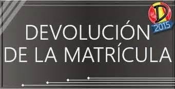 como calcular la devolucion de 2015 c 243 mo pedir la devoluci 243 n del importe de la matr 237 cula si