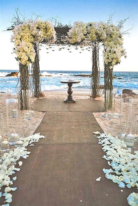 18 Stunning Fun Beach Wedding Decorations Ideas   ChicWedd