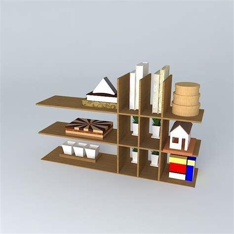 decorative shelf decorative shelf free 3d model max obj