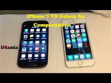 iphone s4 iphone 7 vs galaxy s4 comparazione e caratteristiche a