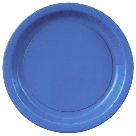 blue plates blue paper plates 7 quot