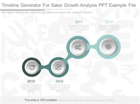 template ppt generator timeline generator for sales growth analysis ppt exle