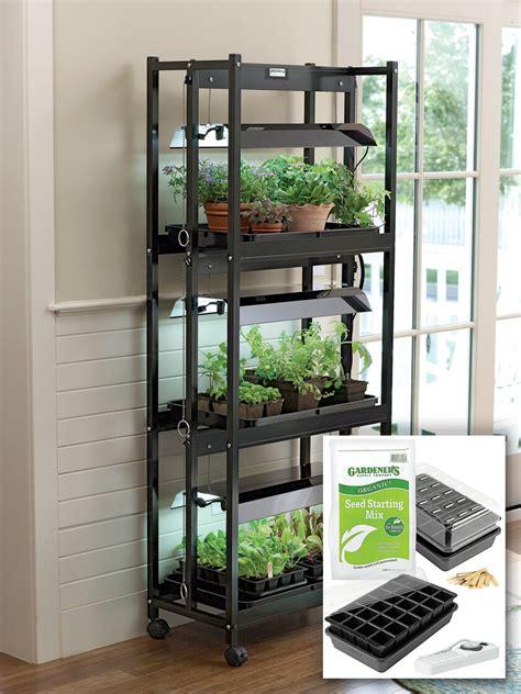 small  tier grow lights  garden starter supplies
