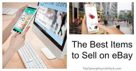Best Items To Sell Online To Make Money - the best items to sell on ebay the spring mount 6 pack
