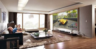 Image result for 100 inch TV. Size: 314 x 160. Source: www.gizmodo.com.au