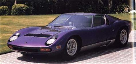 Who Invented The Lamborghini Lamborghini Miura Lamborghini Miura Howstuffworks