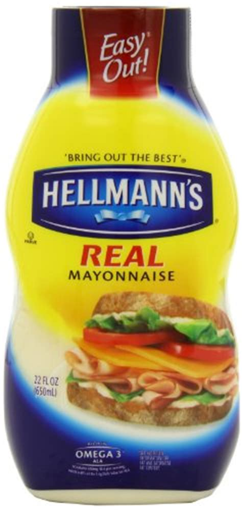kewpie mayo nutrition hellmanns real mayonnaise 22 ounce squeez by