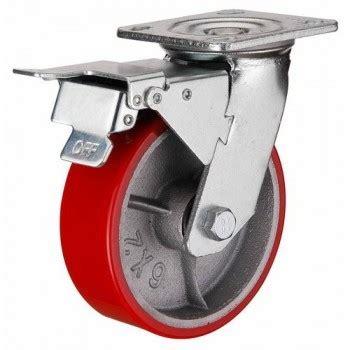 Roda Rem Roda Caster Wheel 2 Inch Rem Weldom tokorodajaya roda pu caster taiwan heavy duty rem