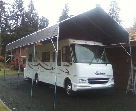 Portable Rv Carports 1000 images about diy build your own rv or boat portable carport shelter on