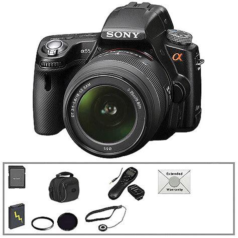 Kamera Dslr Sony A55 sony alpha slt a55 dslr digital w 18 55mm lens b h
